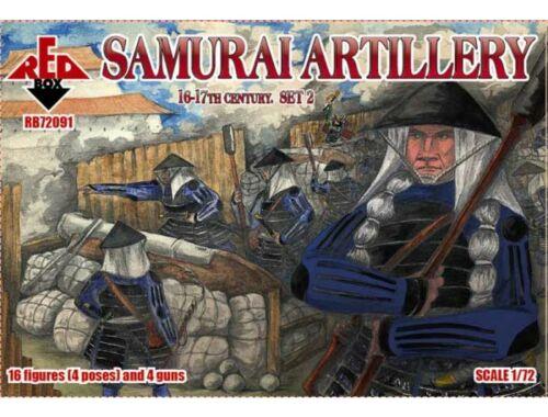 Red Box Samurai artillery,16-17th century,set 2 1:72 (72091)