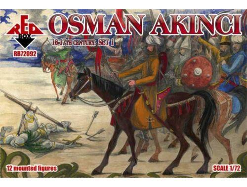 Red Box Osman Akinci,16-17th century,set 1 1:72 (72092)