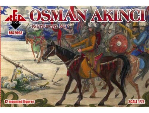Red Box Osman Akinci,16-17th century, set 2 1:72 (72093)