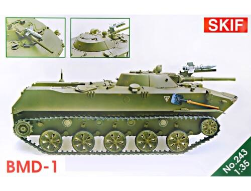 Skif BMD-1,updated kit (new wheels,weapon) 1:35 (243)