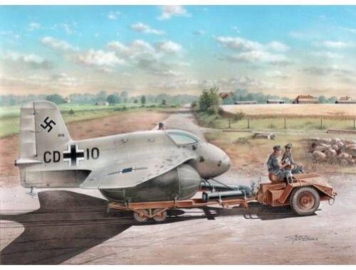 Special Hobby Messerschmitt Me 163A with Sleuch Sleppe Scheuch-Schlepper 1:72 (72183)