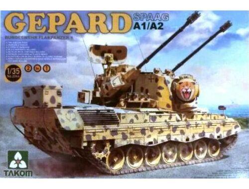 Takom Bundeswehr Flakpanzer 1 Gepard SPAAG A1/ /A2 2in1 1:35 (2044)