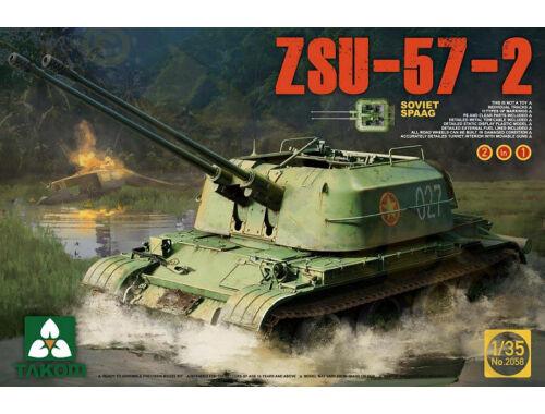 Takom Soviet SPAAG ZSU-57-2 2 in 1 1:35 (2058)