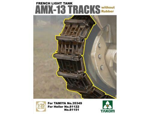 Takom French Light Tank AMX-13 Tracks without Rubber 1:35 (2060)
