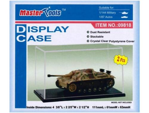 Trumpeter Master Tools Display Case 111x61x63 mm (9818)