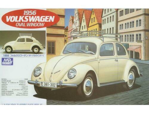 Mr.Hobby Volkswagen Beetle 1956 (oval window) 1/24
