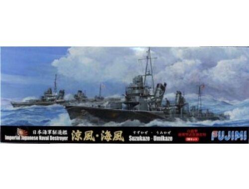 """Fujimi Japanese Destroyer """"Suzukaze"""" """"Umikaze"""" 2Set 1:700 (FU401119)"""