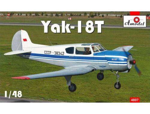 Amodel Yakovlev Yak-18T Aeroflot 1:48 (4807)