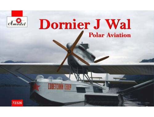 Amodel Dornier J Wal, Polar aviation 1:72 (72326)