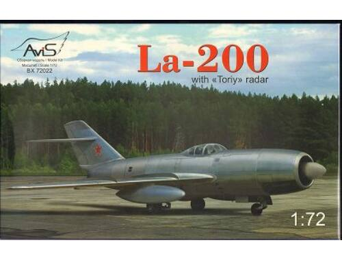 "Avis La-200 with ""Toriy"" radar 1:72 (72022)"