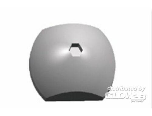 Bronco Half Round Bolt Nuts (General Purpose) 1:35 (AB3505)
