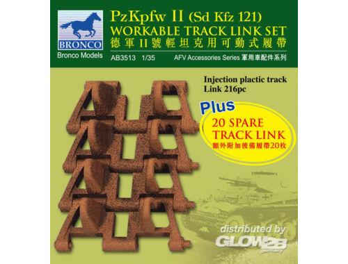 Bronco PzKpfw II workable track link set 1:35 (AB3513)