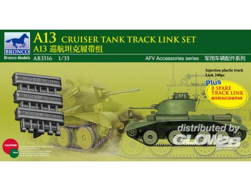 Bronco A13 Cruiser Tank MK.III Track Link Set 1:35 (AB3516)