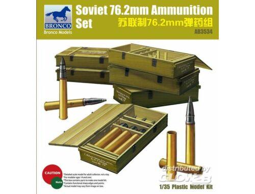 Bronco Soviet 76,2mm Ammunition Set 1:35 (AB3534)