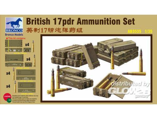 Bronco British 17pdr Ammunition Set 1:35 (AB3535)