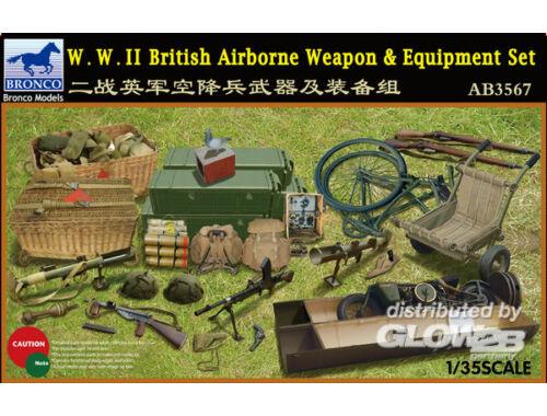 Bronco W.W.II British Airborne Weapon Equipment Set 1:35 (AB3567)