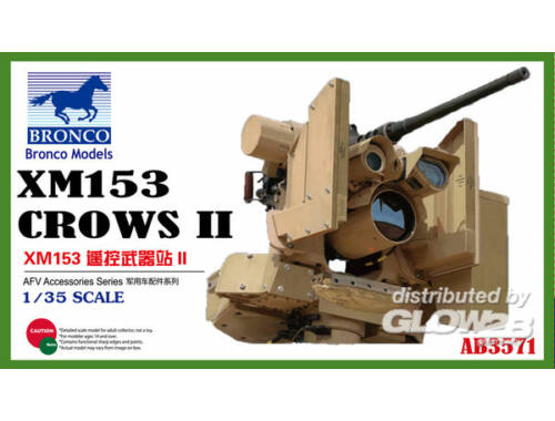 Bronco XM153 CROWS II 1:35 (AB3571)