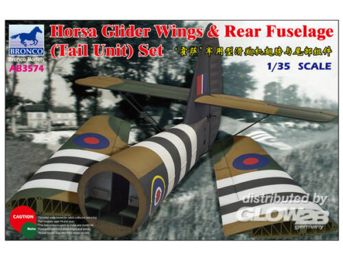 Bronco Horsa Glider Wing  Rear Fuselage (Tail 1:35 (AB3574)