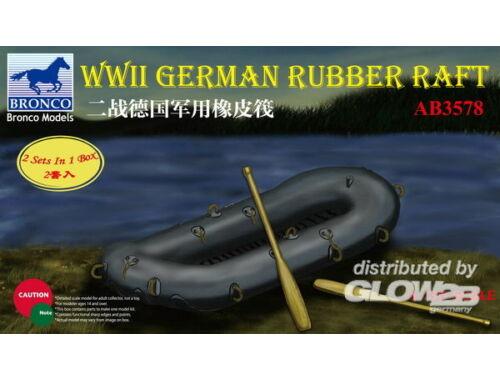 Bronco WWII German Rubber Raft 1:35 (AB3578)