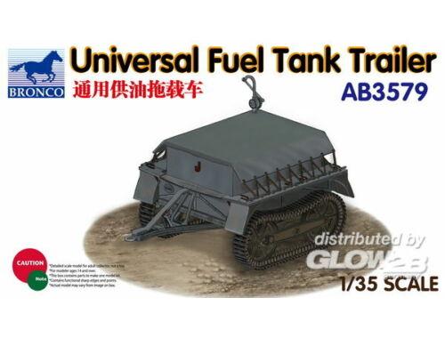 Bronco Universal Fuel Tank Trailer 1:35 (AB3579)