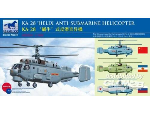 Bronco Kamov KA-28 HELIX Anti-Submarine Helicop 1:200 (BB2003)