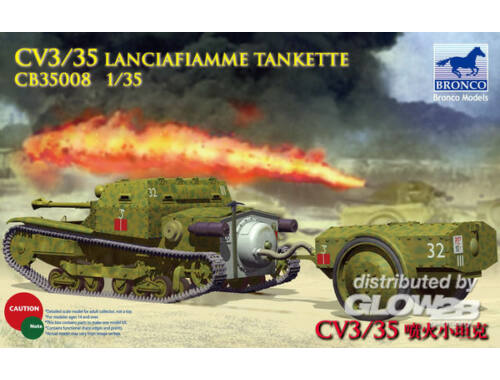 Bronco CV L3/35 Lanciafiamme Tankette 1:35 (CB35008)
