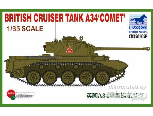 Bronco British Cruiser Tank A34 COMET 1:35 (CB35010SP)