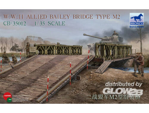 Bronco WWII Allied Bailey Bridge Type M2 1:35 (CB35012)