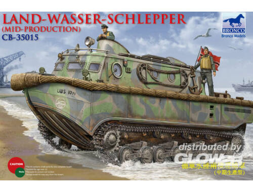 Bronco Landwasserschlepper (Middle Production) Mid Production 1:35 (CB35015)