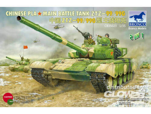 Bronco Chinese PLA Type 99/99G MBT 1:35 (CB35023)