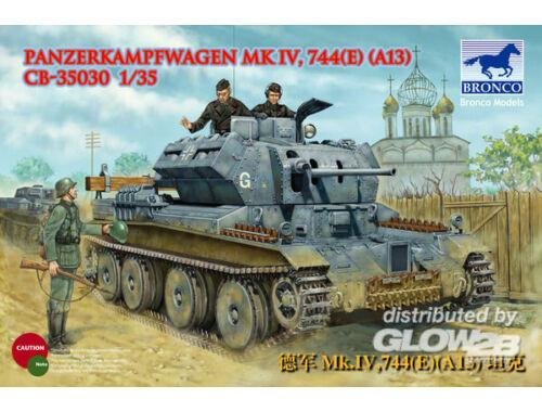 Bronco PanzerKampfwagen Mk.IV,744(e)(A13) 1:35 (CB35030)