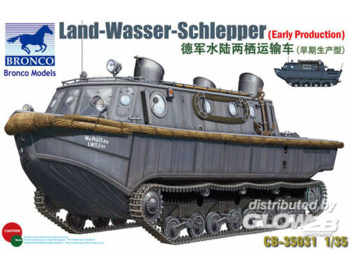 Bronco Land-Wasser-Schlepper (Early Prod.) 1:35 (CB35031)