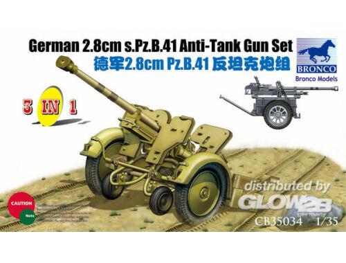 Bronco 2.8cm Pzb41 1:35 (CB35034)
