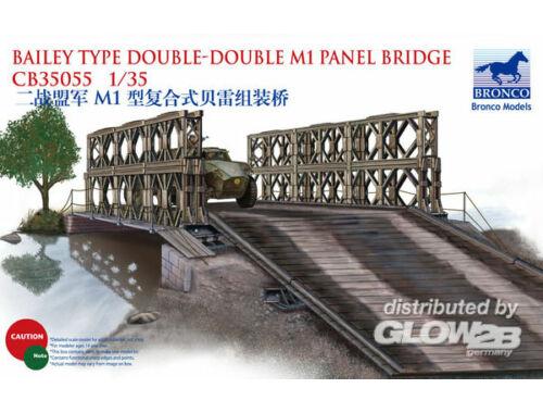 Bronco Bailey Type Double-Double M1 Panel Bridg 1:35 (CB35055)