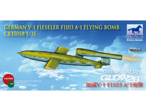 Bronco German V-1 Fi103 A-1 Flying Bomb Flying Bomb 1:35 (CB35058)