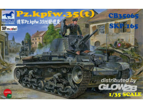 Bronco German Pz.Kpfw. 35(t) Light Tank 1:35 (CB35065)