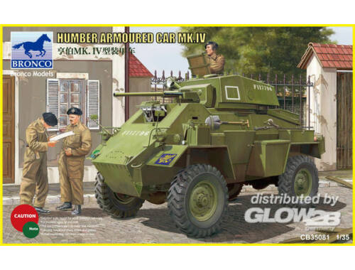 Bronco Humber Armored Car Mk.IV 1:35 (CB35081)