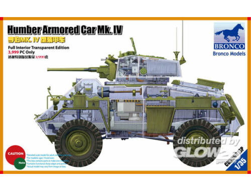 Bronco Humber Armored Car Mk.IV (Limited Editio 3,999 Only) 1:35 (CB35081SP)