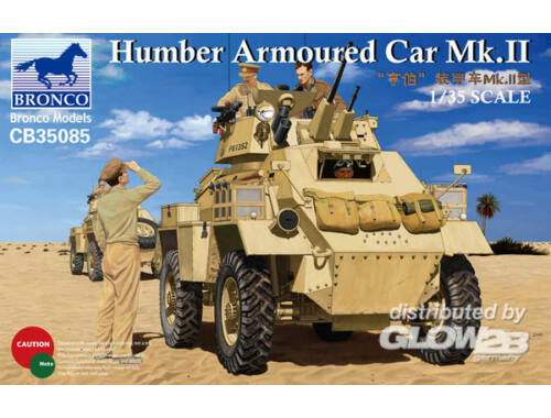 Bronco Humber Armoured Car Mk.II 1:35 (CB35085)