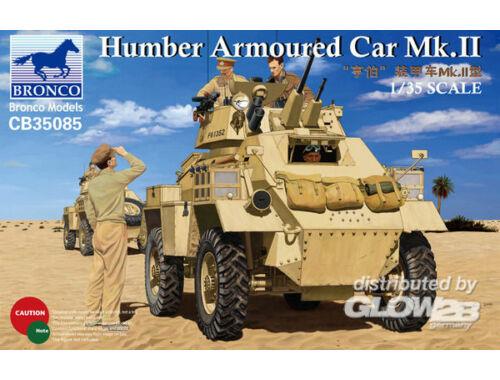 Bronco Humber Armoured Car Mk.II 1:35 (CB35085)