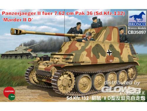 Bronco Sd Kfz 132 Marder IID 1:35 (CB35097)