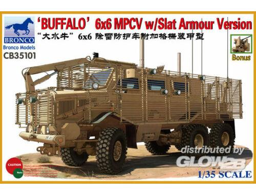 Bronco Buffalo MPCV w/Grill Armor 1:35 (CB35101)