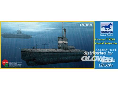 Bronco German U-XXIII Coastal Submarin 1:35 (CB35104)