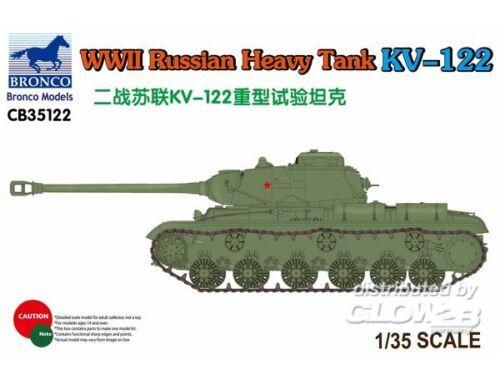Bronco WWII Russian Heavy Tank KV-122 1:35 (CB35122)