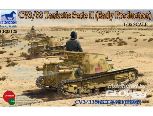 Bronco CV3/33 Tankette Serie II (Early Producti 1:35 (CB35125)