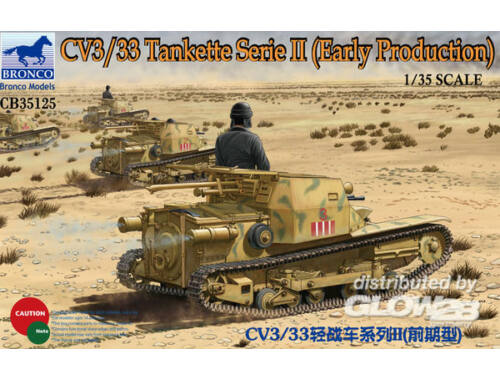 Bronco CV3/33 Tankette Serie II (Early Producti 1:35 (CB35125)