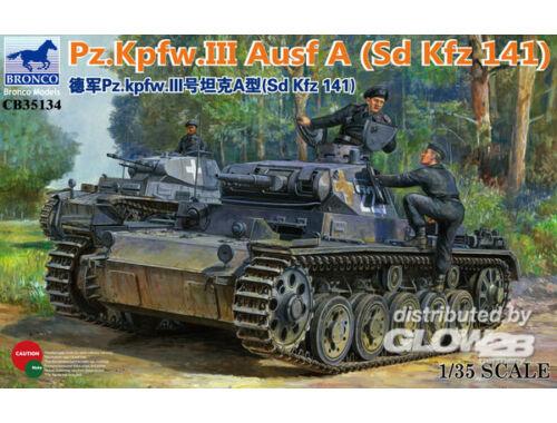 Bronco Panzerkampfwagen III Ausf.A (Sd Kfz 141) 1:35 (CB35134)