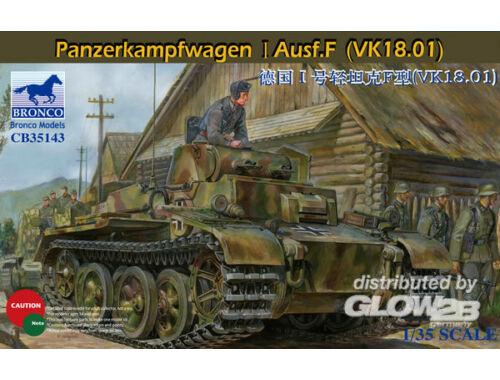 Bronco Panzerkampfwagen I Ausf.F(VK18.01) 1:35 (CB35143)