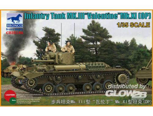 Bronco Infantry Tank Mk.III Valentine Mk.XI(OP) 1:35 (CB35146)