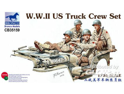 Bronco WWII US Truck Crew Set 1:35 (CB35159)